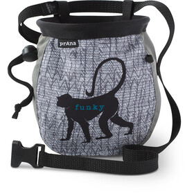 Prana Graphic Chalk- & Boulderbags with Belt grå